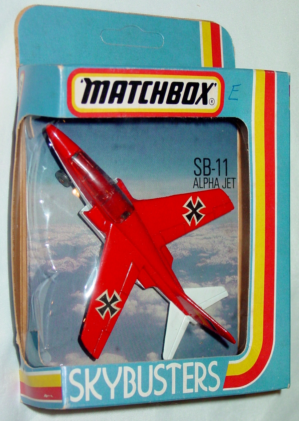 Sky Buster 11 A 2 - Alpha Jet met Red thick axles ENGLAND C8.5 box