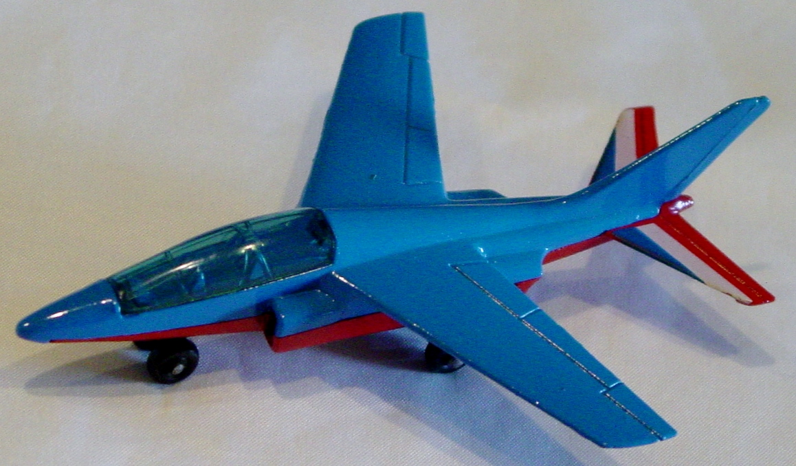 Sky Buster 11 A 3 - Alpha Jet Blue and Red no tampo
