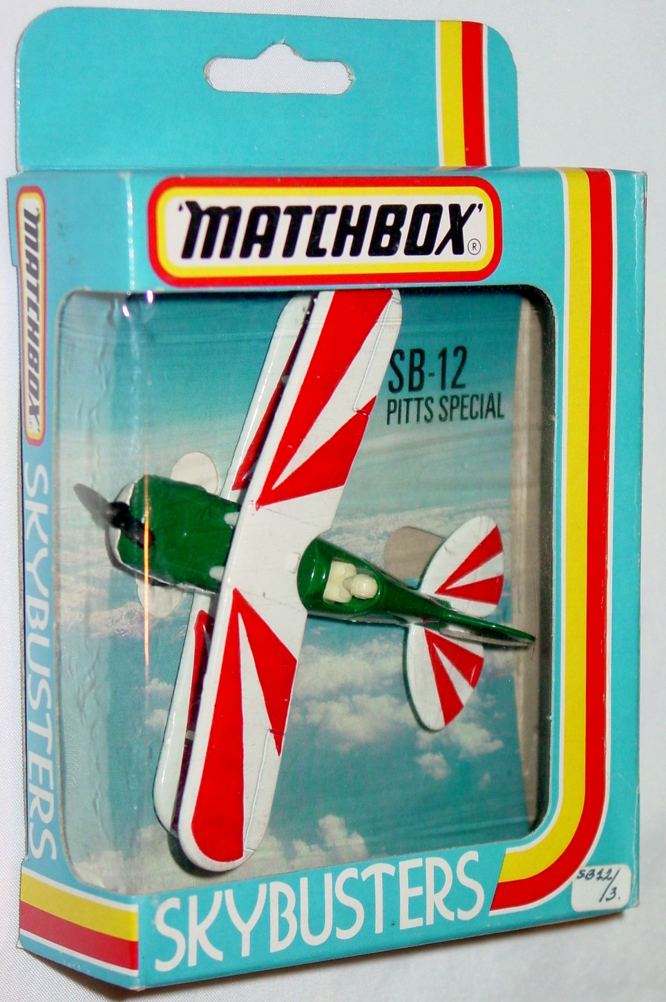 Sky Buster 12 B 2 - Pitts Special dark Green/White red tampo Made in Macau