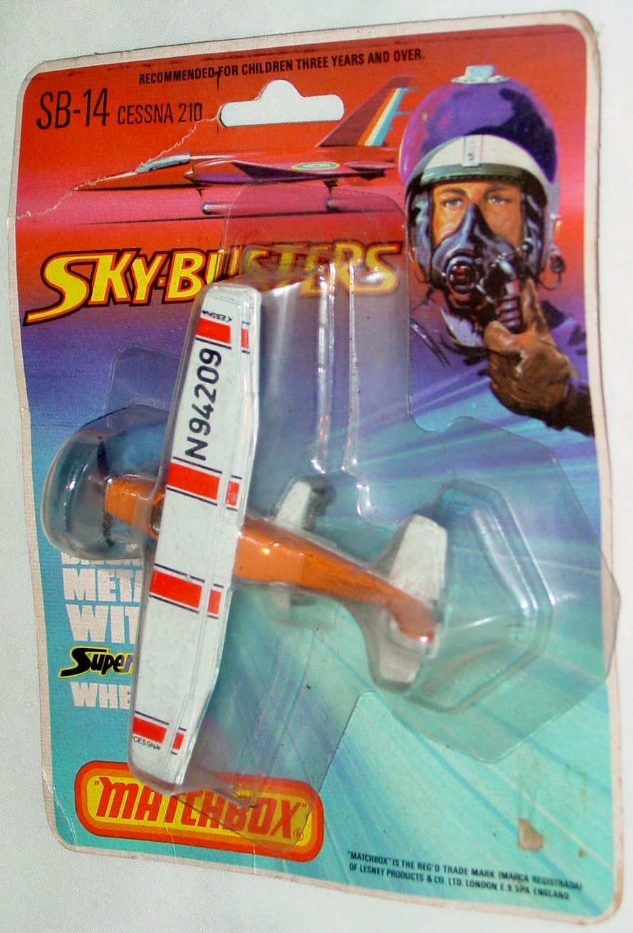 Sky Buster 14 A 4 - Cessna 210 Orange thick axles tampo C8.5 BP
