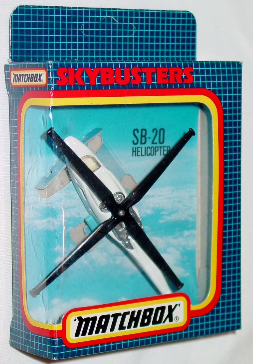 Sky Buster 20 A 2 - Helicopter White/pow blue Coast Guard ENG