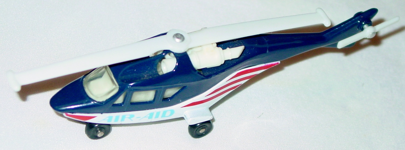 Sky Buster 20 A 4 - Helicopter dark blue/white Air-Aid Made in Macau