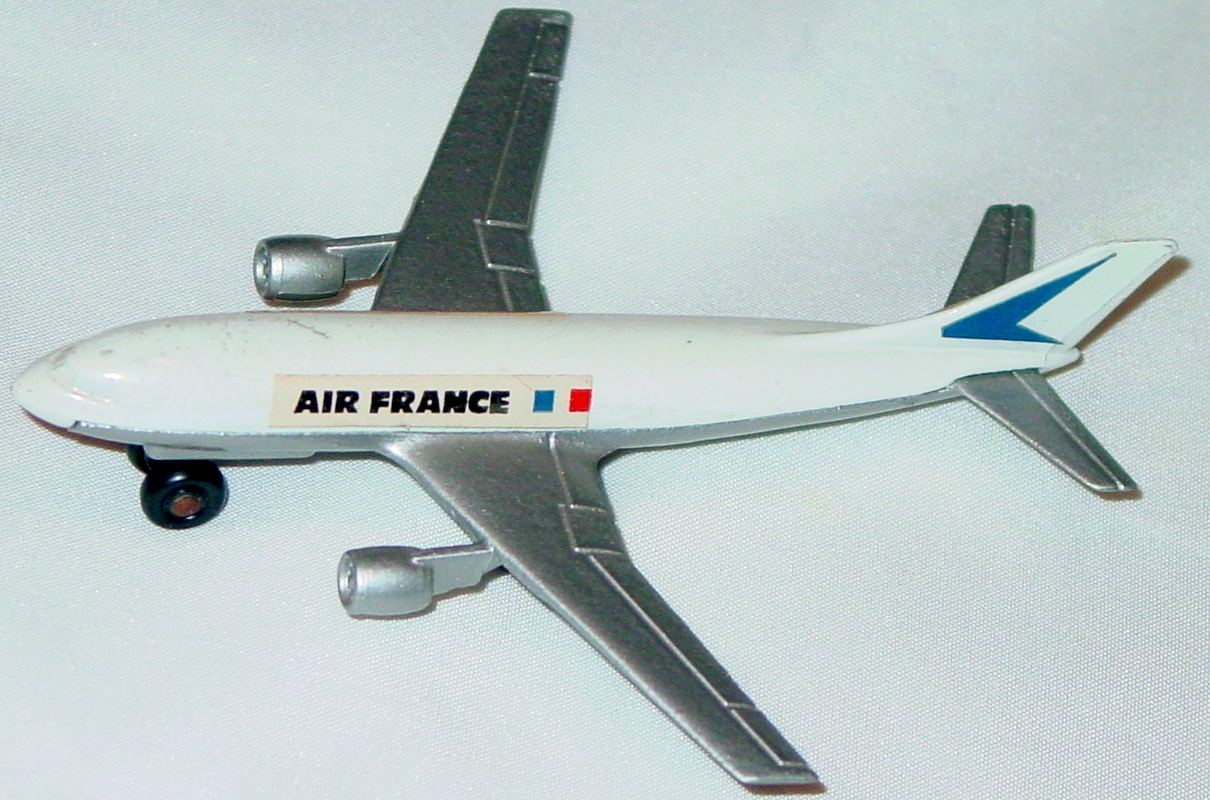Sky Buster 03 A 5 - Airbus white Air France thick axle 5-side label ENG