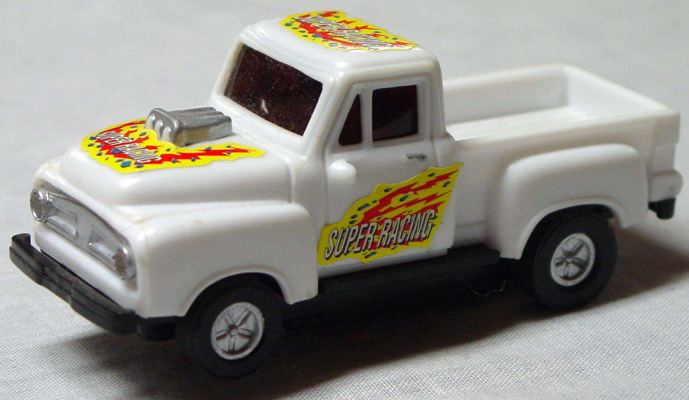 43 - SLOT White 50s Pickup 1/43
