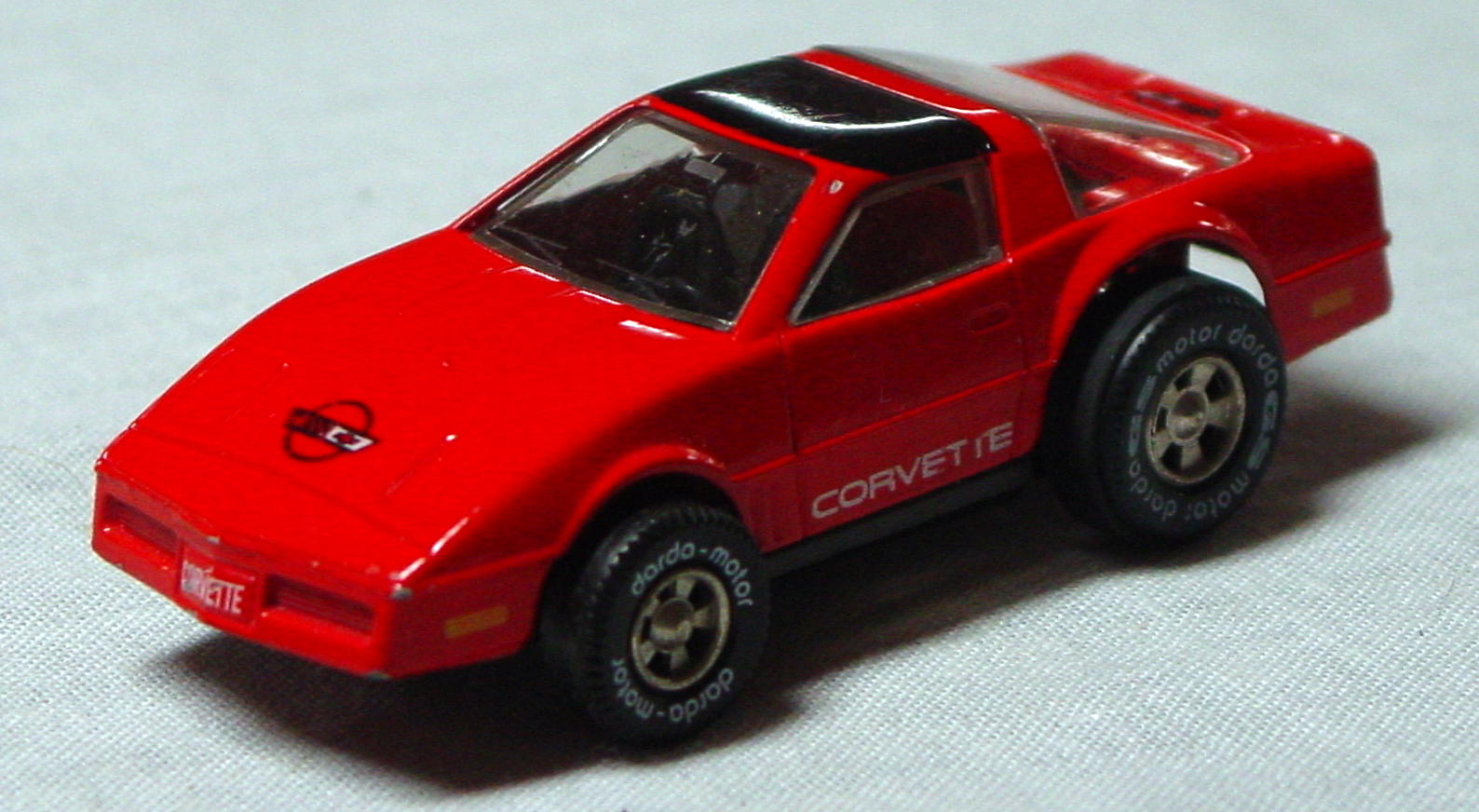 64 - DARDA Corvette Red W Germany