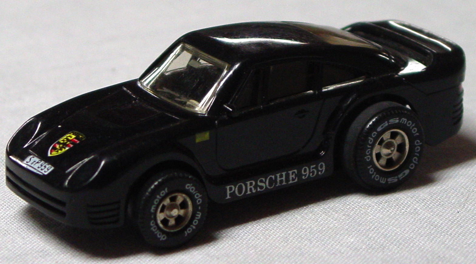 64 - DARDA Porsche 959 Black W Germany
