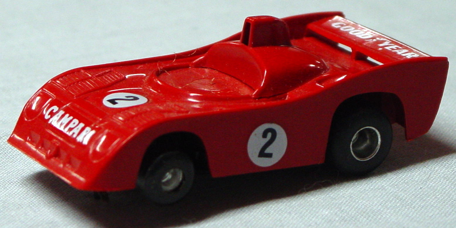 43 - SLOT POLISTIL Red racer Campari 1/43 ITALY