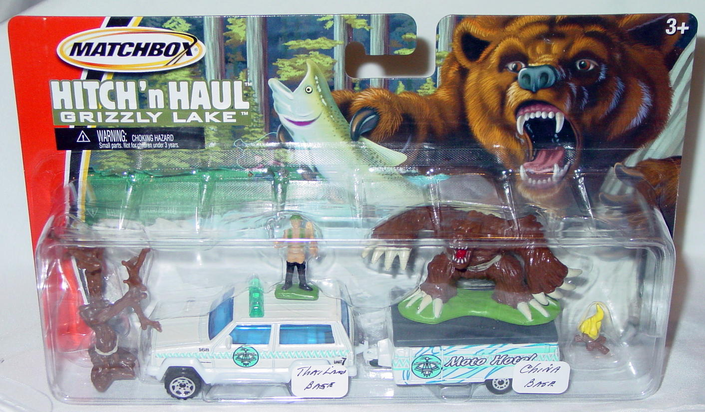 Twin Pack - HITCHNHAUL 2005 Grizzly Lake Cherokee made in Thailand popup
