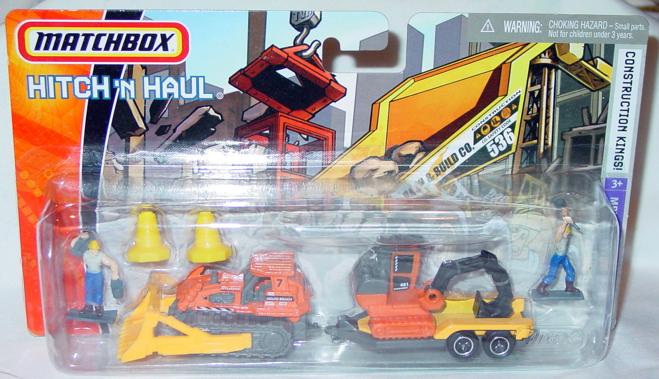 Twin Pack - HITCHNHAUL 2007 Const Kings Ground Breaker trailer