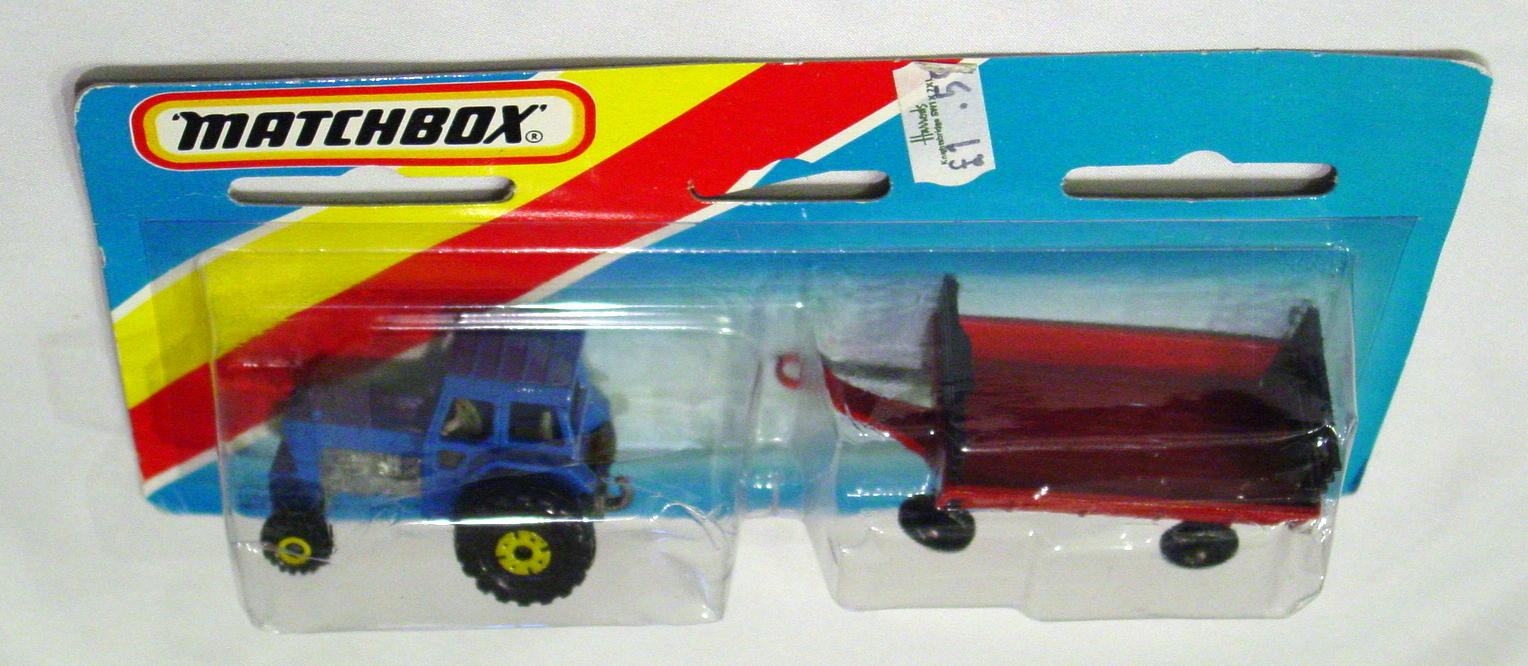 Twin Pack 108 A 1 - Blue 46C Tractor/Red 40C trailer C9-