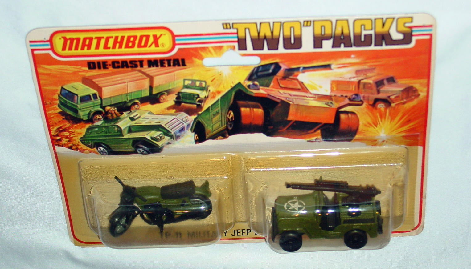 Twin Pack 11 A 4 - Olive RNII Jeep 21*11 olive 18B7 Hondarora open BP