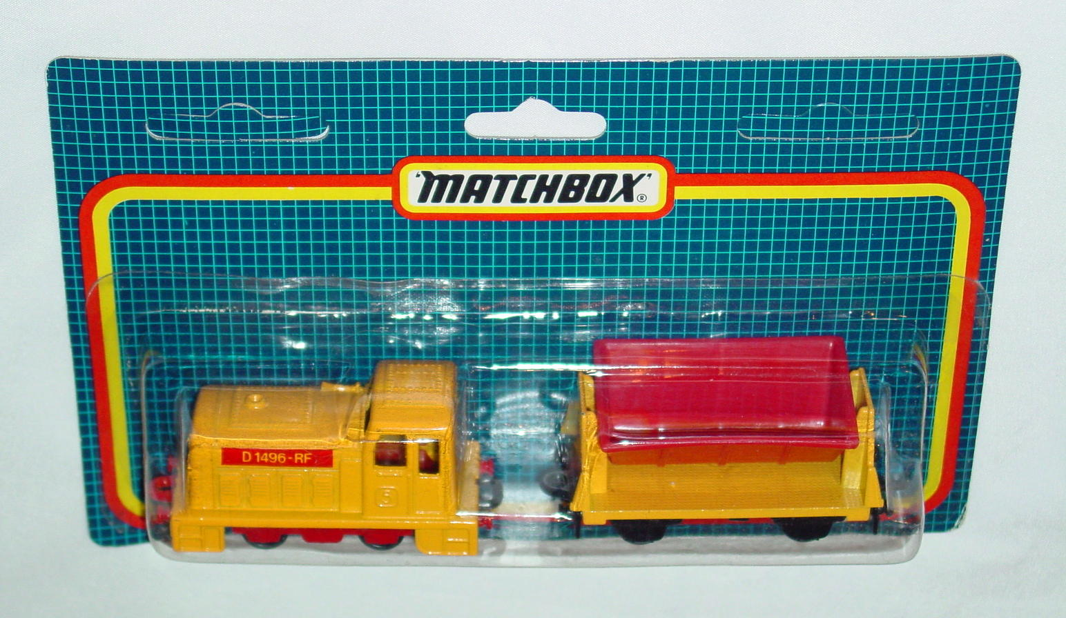 Twin Pack 125 A 1 - yellow 24C15 shunter yellow 720A5 tipper C9 blue checkers
