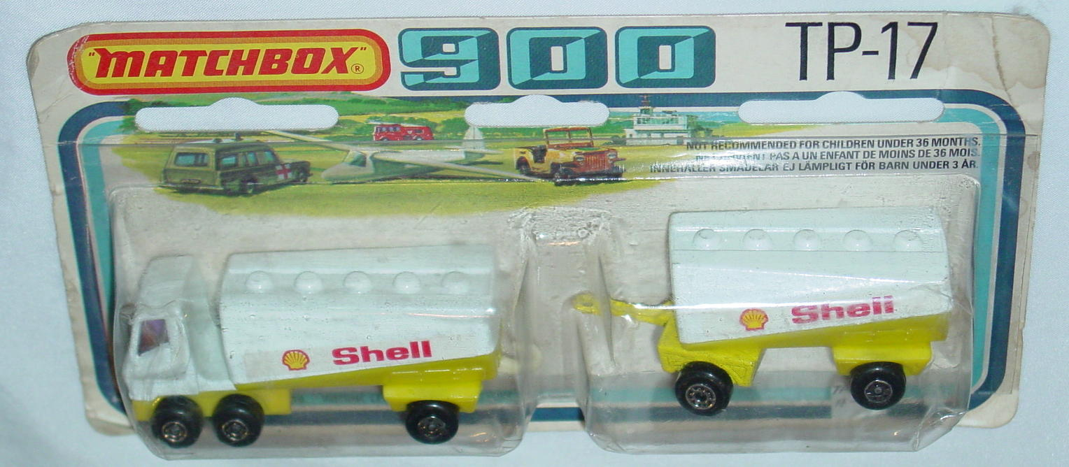 Twin Pack 17 A 4 - 63B13 Tanker Shell 63C3 trailer Shell C9- 900 card
