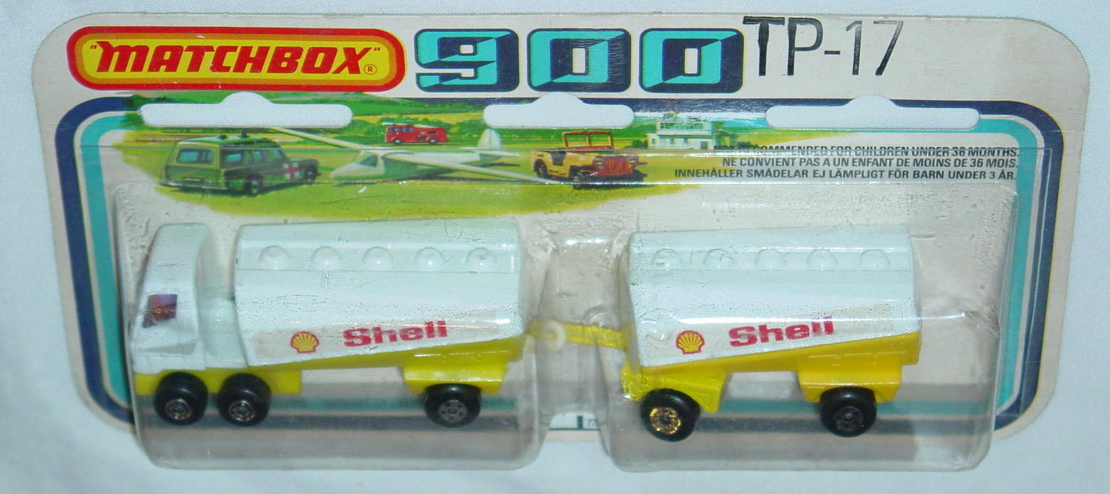 Twin Pack 17 A 4 - 63B13 Tanker Shell 63C4 trailer Shell C9+ 900 card