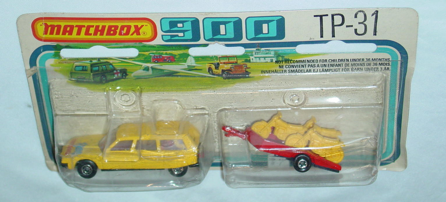 Twin Pack 31 A 1 - yellow 12D18 Citroen red yellow 791A3 cycle trailer C8.5 900