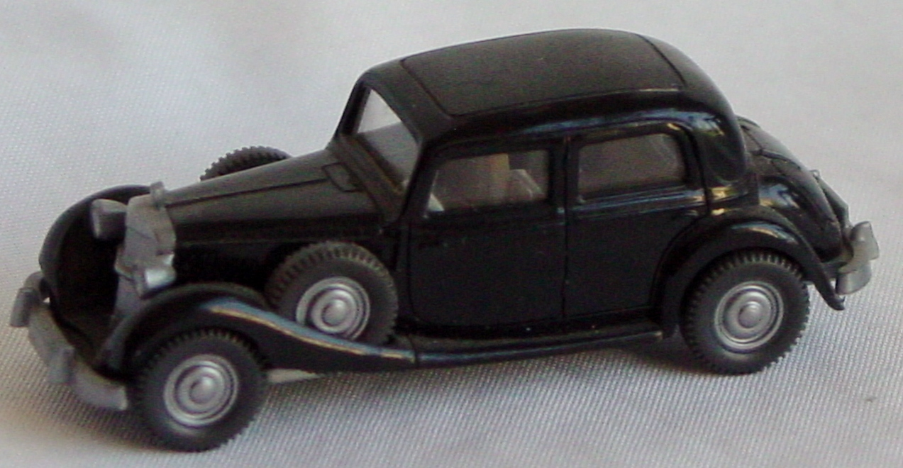 87 - WIKING Mercedes 260D Black