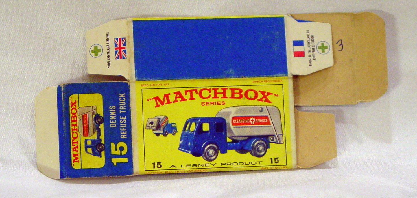 Empty Box 15 C - C9.5 E4 BOX ONLY