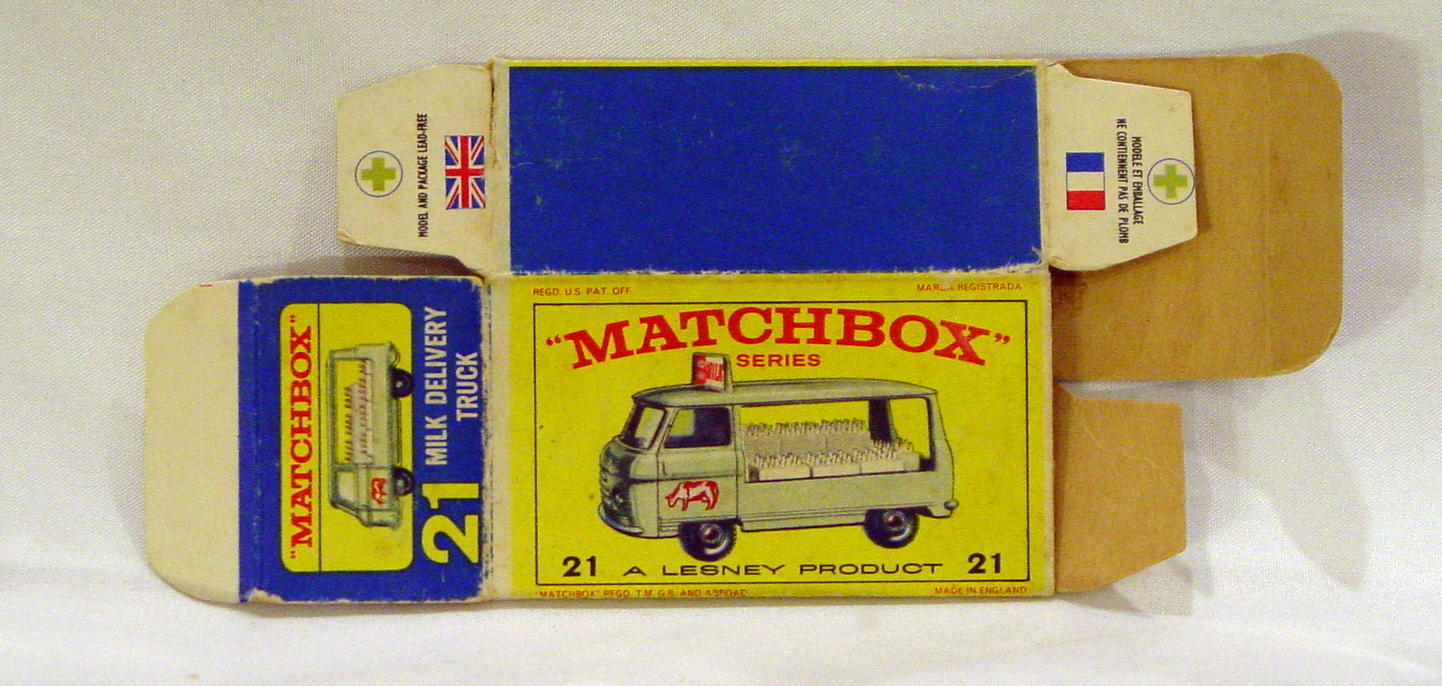 Empty Box 21 C - C9 E4 BOX ONLY