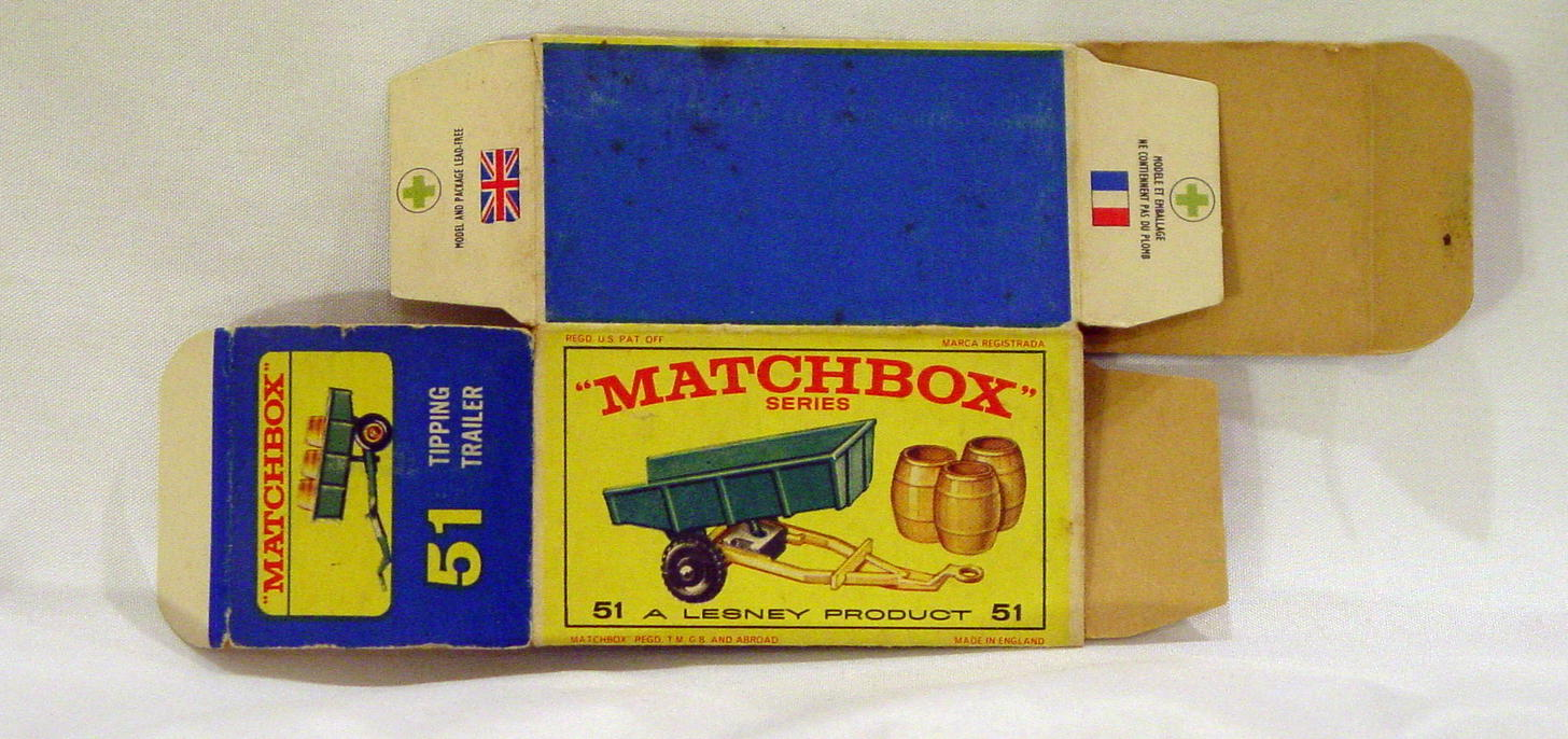 Empty Box 51 B - C9+ E4 BOX ONLY
