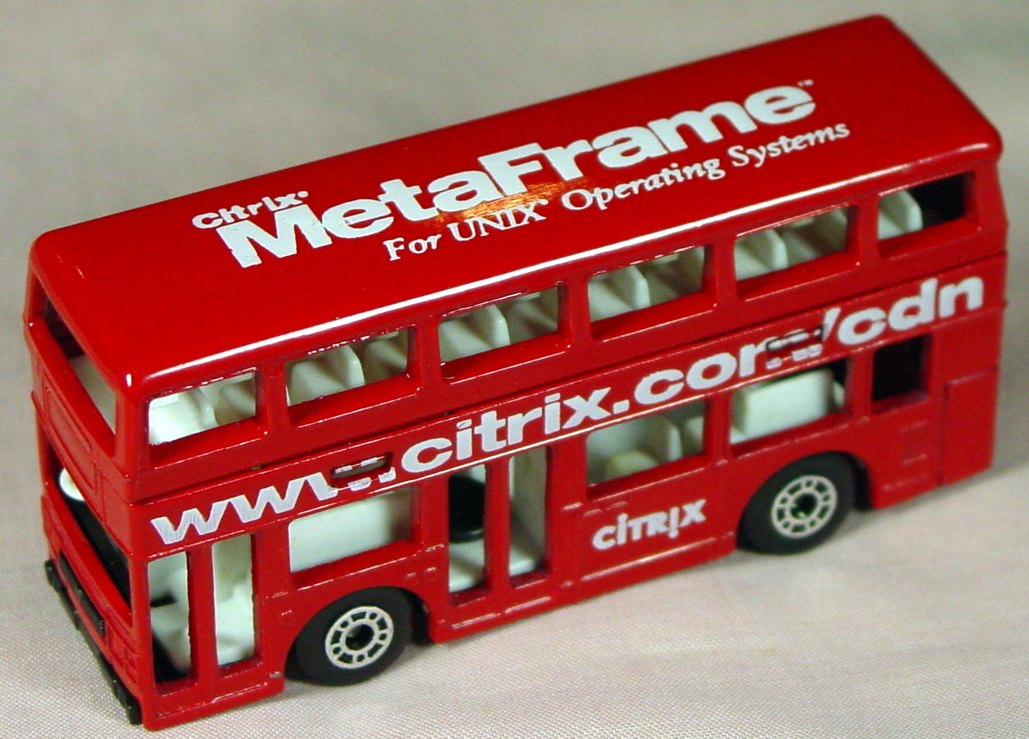 ASAP-CCI 17 C 60 - Titan Bus Red Citrix.com Unix OS made in China ASAP