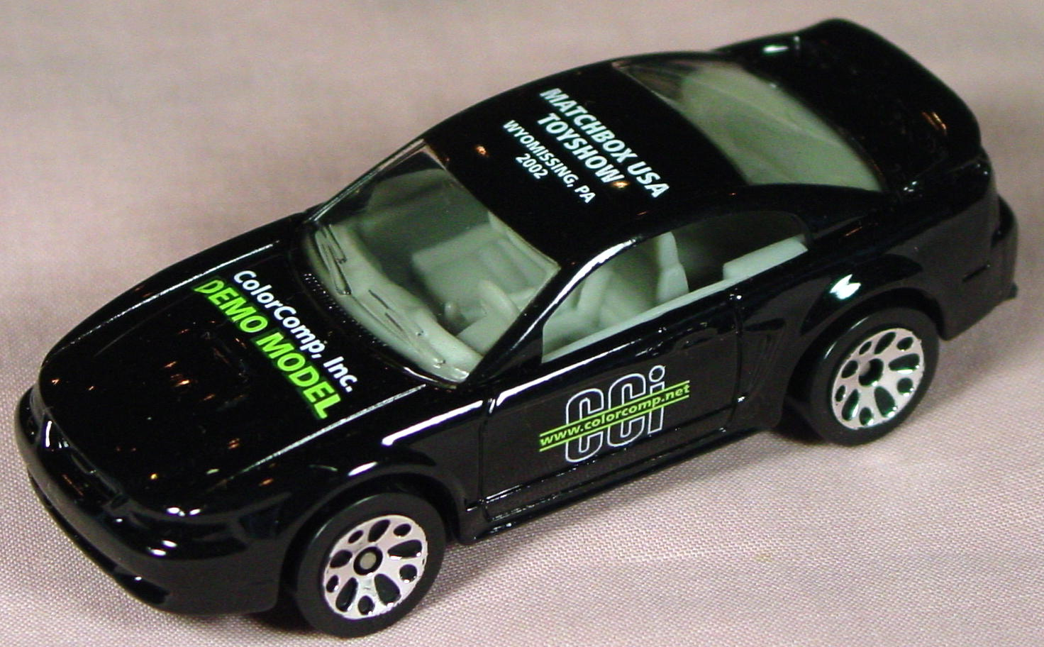 ASAP-CCI 17 I 25 - 99 Ford Mustang Black lime Color Comp Demo MBXUSA