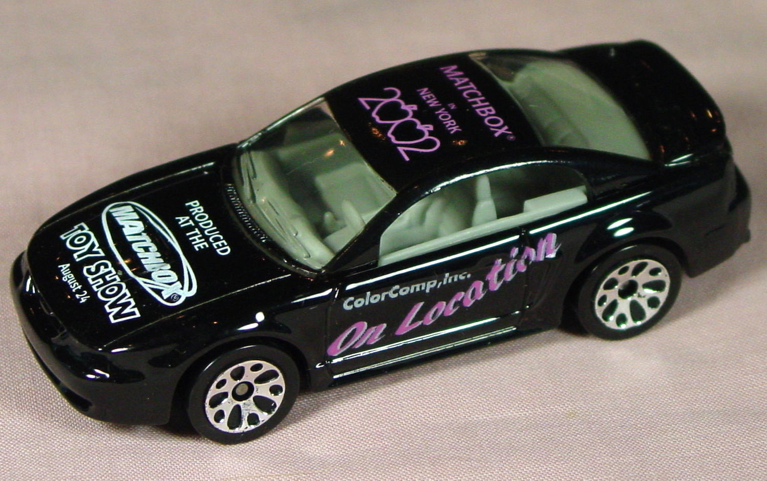 ASAP-CCI 17 I 30 - 99 Ford Mustang Black pink MBX NY 2002 on location CCI
