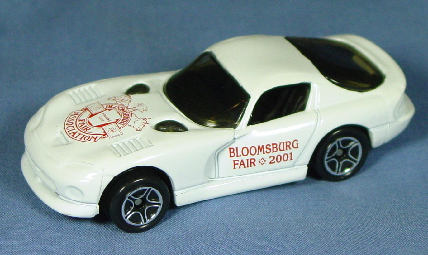 ASAP-CCI 01 G 46 - Dodge Viper GTS White Bloomsburg Fair Assn 2001 CCI