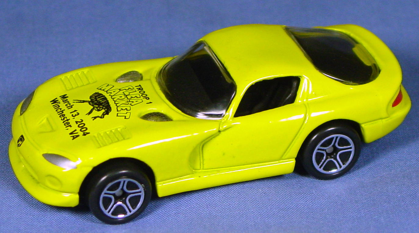 ASAP-CCI 01 G 59 - Dodge Viper GTS Yellow Troop 1 Flea Mkt 2004 CCI