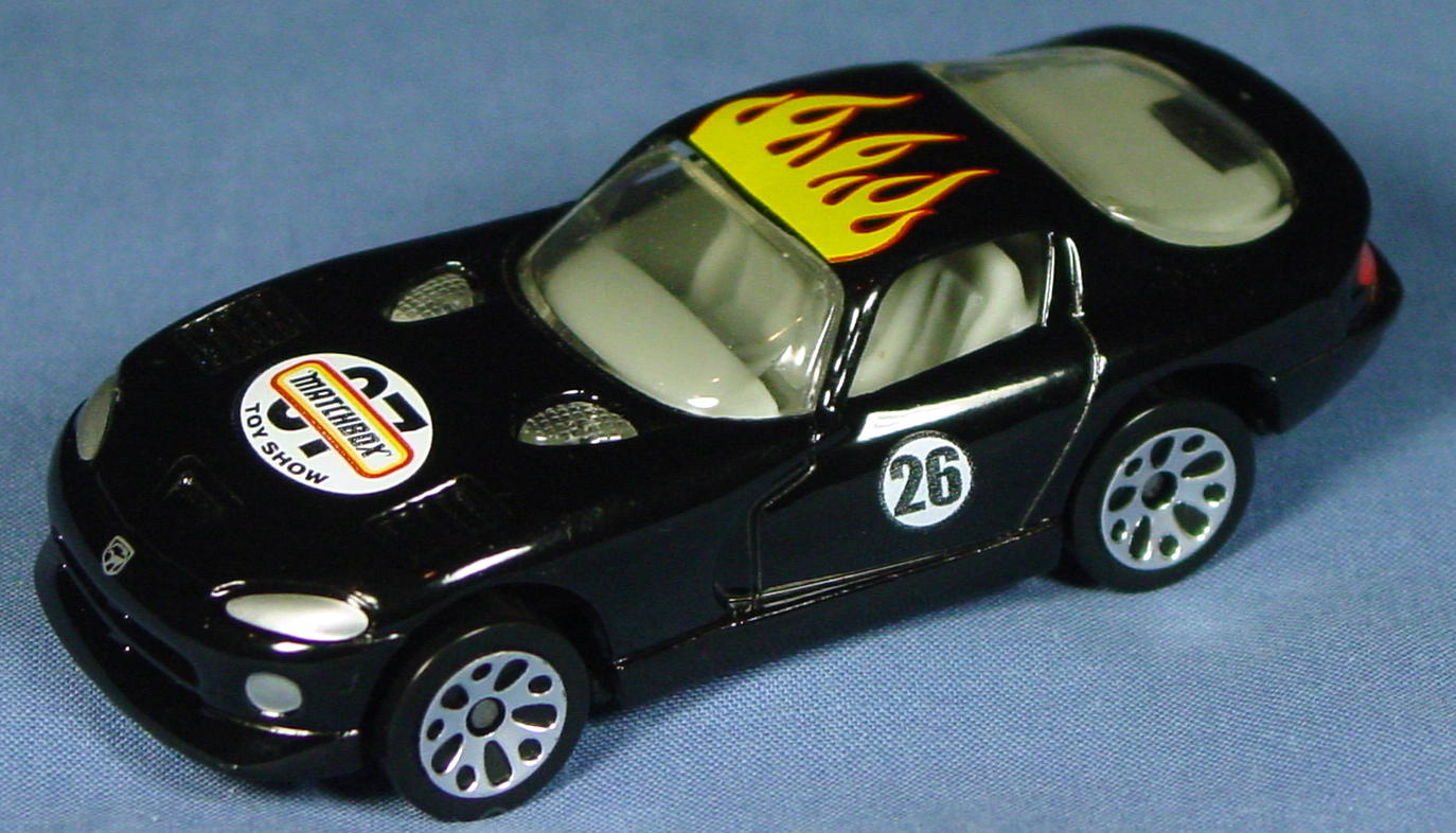 ASAP-CCI 01 G - Dodge Viper GTS Black 2007 Toy Show