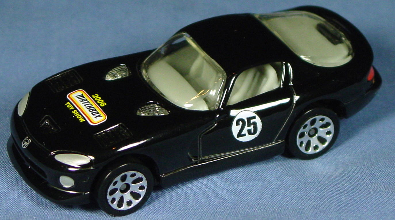 ASAP-CCI 01 G - Dodge Viper GTS Black 2006 Matchbox Show