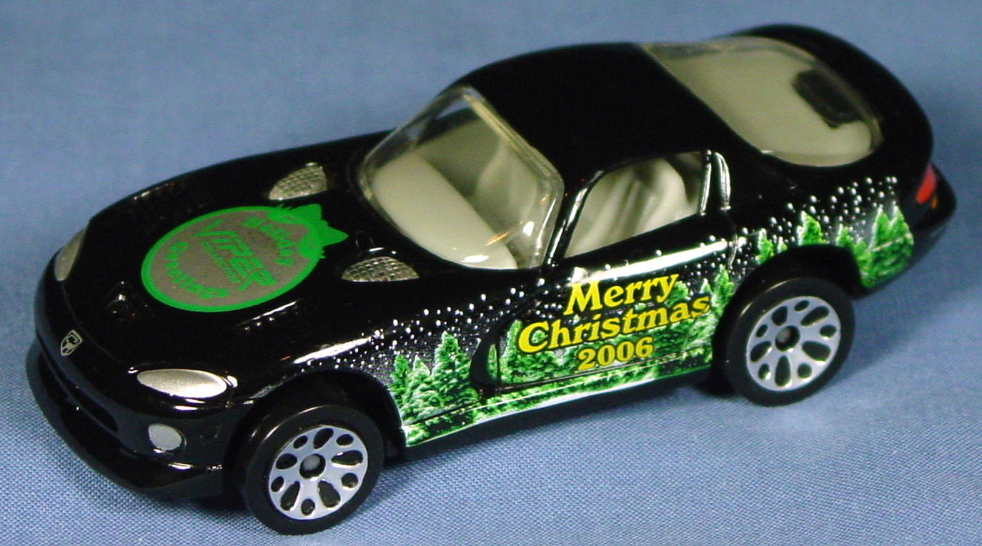 ASAP-CCI 01 G - Dodge Viper GTS Black 2006 Holiday Greetings