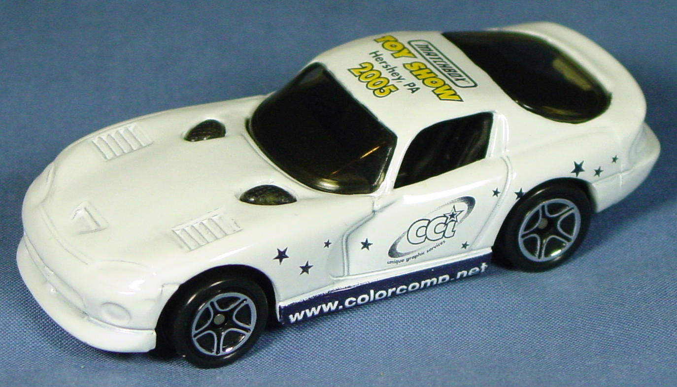 ASAP-CCI 01 G - Dodge Viper GTS White 2005 Hershey Demo no tampo