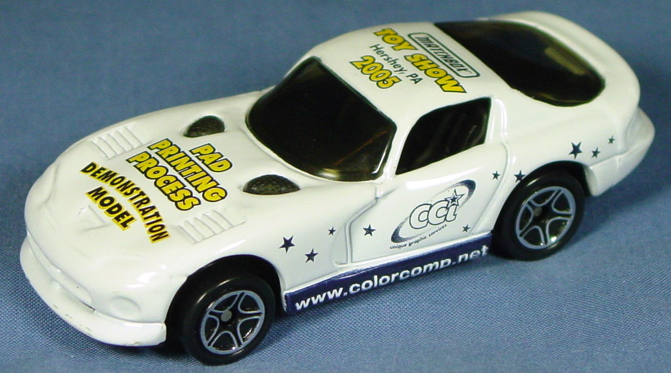 ASAP-CCI 01 G - Dodge Viper GTS White 2005 Hershey Demo yellow lets