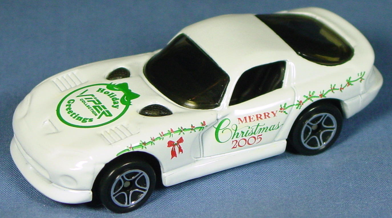 ASAP-CCI 01 G - Dodge Viper GTS White Christmas Greeting 2005