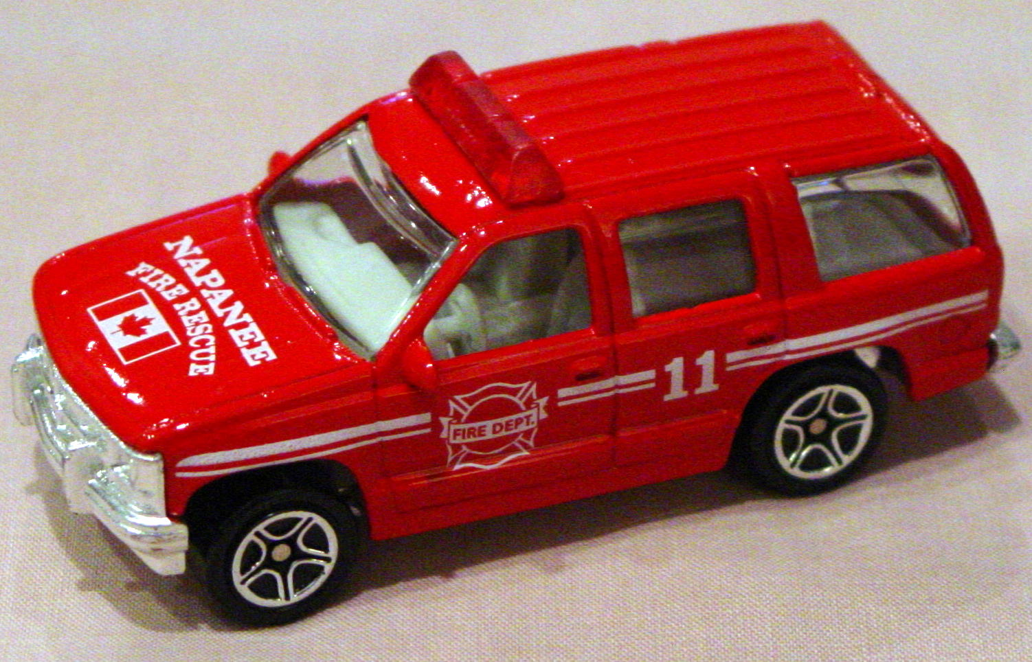ASAP-CCI 30 I 27 - Chevy Tahoe Police Red Napanee Fire Rescue CCI