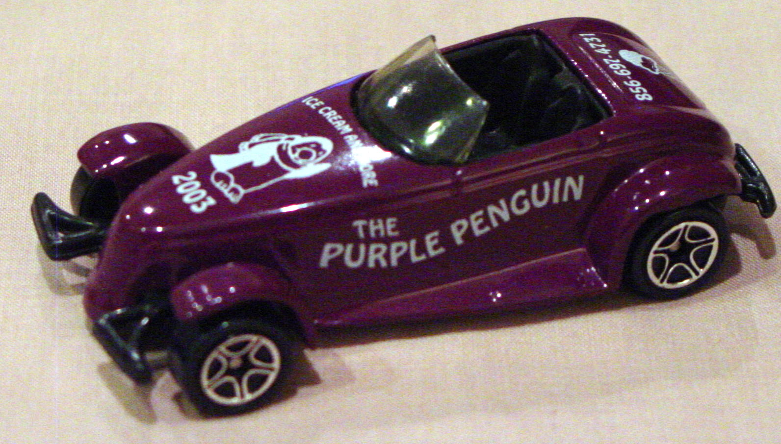 ASAP-CCI 34 G 66 - Prowler Plum The Purple Penguin CCI