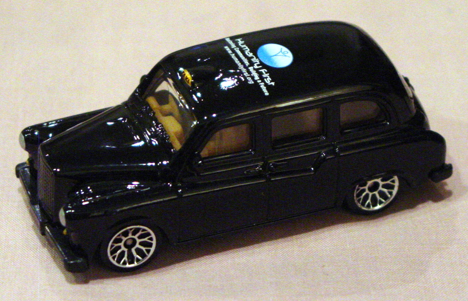 ASAP-CCI 36 - London Taxi Black Humanity First CCI