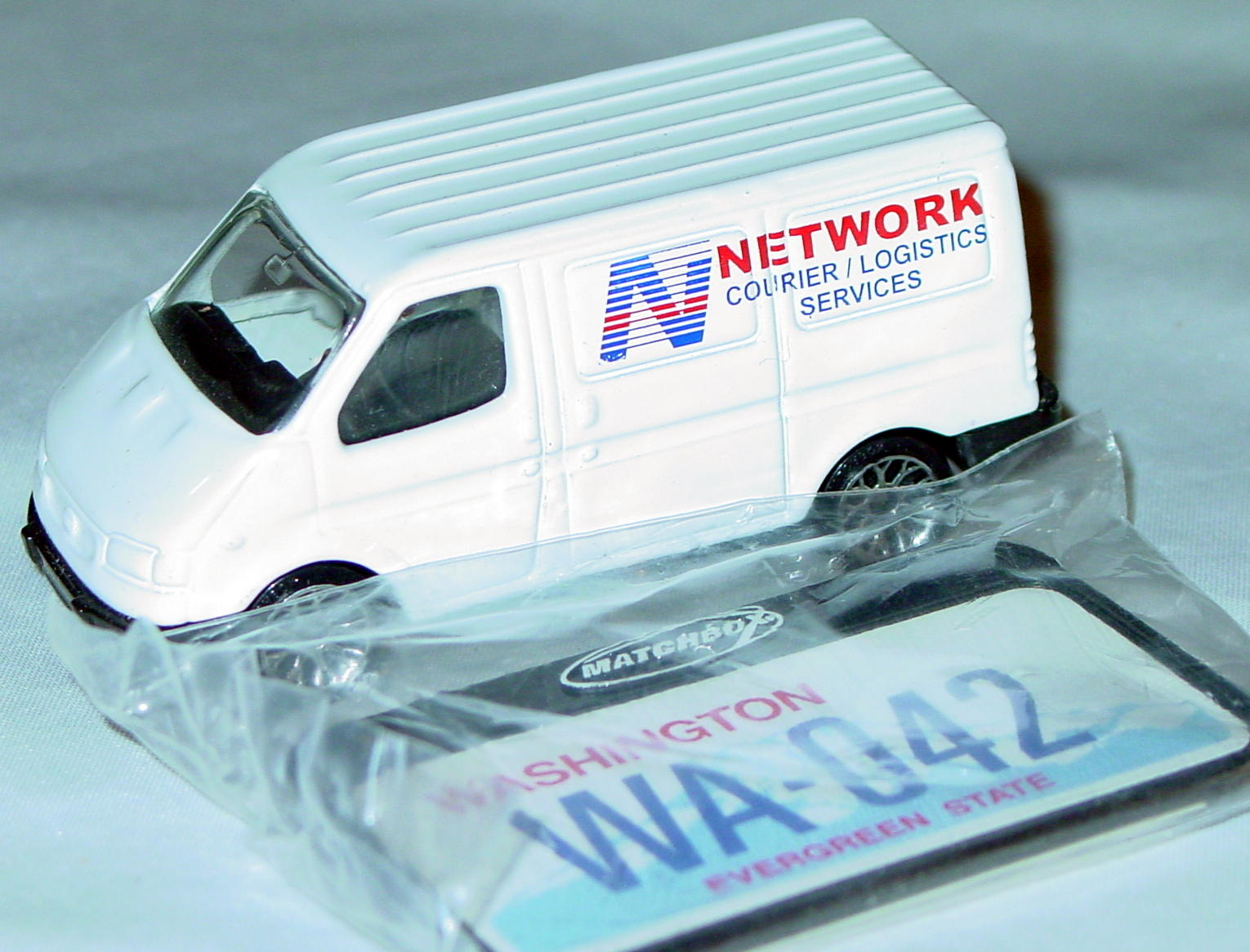 ASAP-CCI 15 K - Transit Van White Network Courier 10-spk Flow ASAP