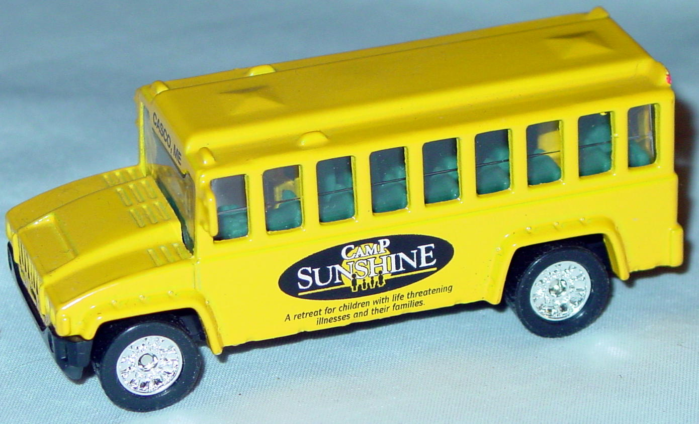 ASAP-CCI 16 G 10 - School Bus org-Yellow Camp Sunshine CCI