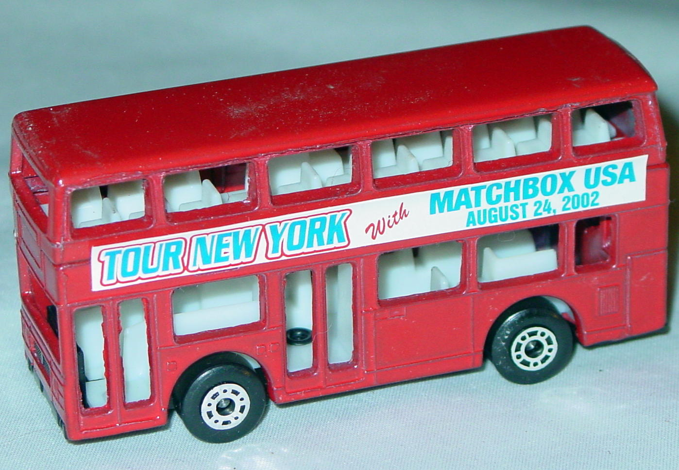ASAP-CCI 17 C 65 - Titan Bus Red Tour NY Matchbox USA CCI