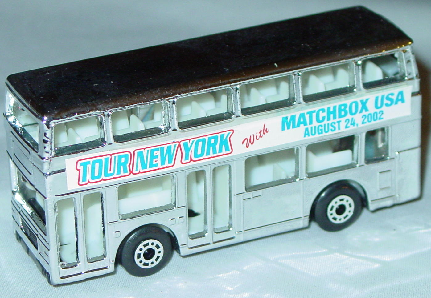 ASAP-CCI 17 C 66 - Titan Bus Chrome Tour NY Matchbox USA CCI