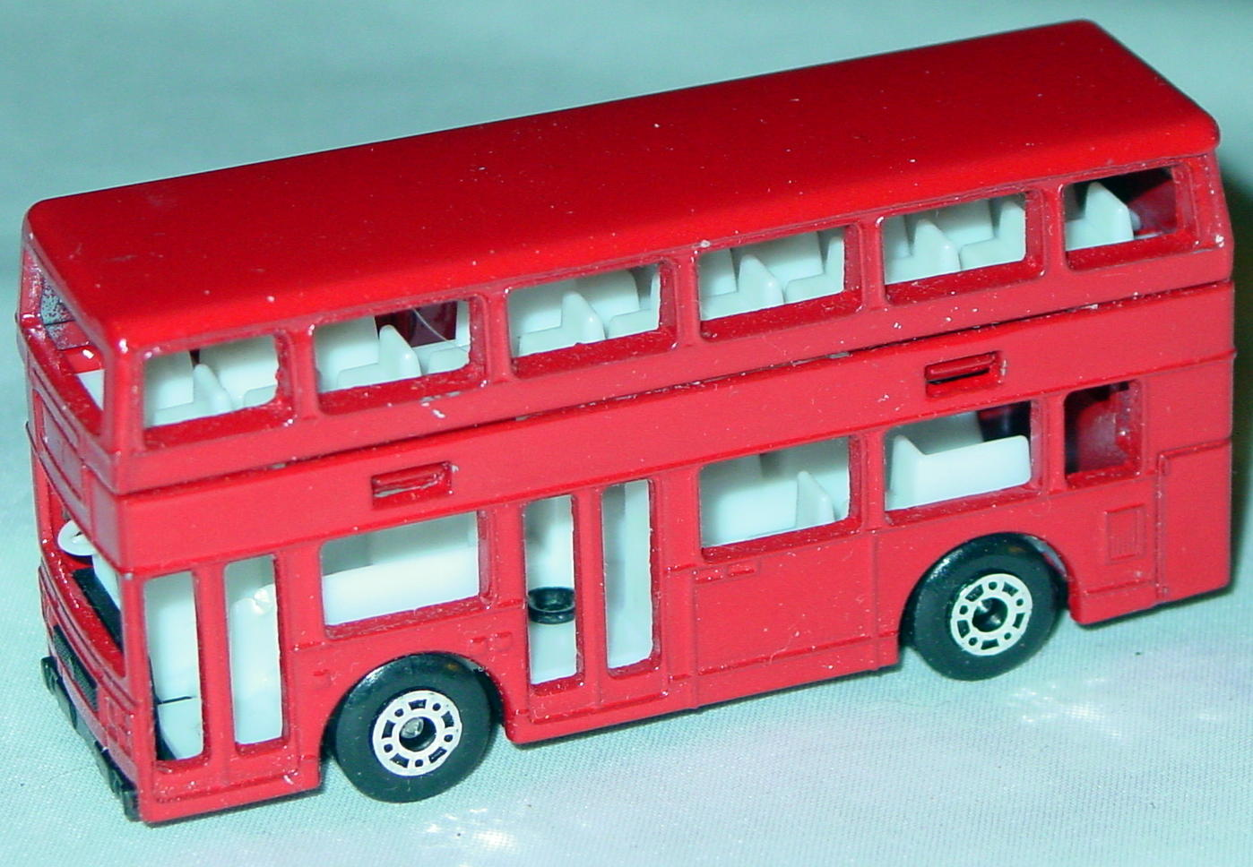 ASAP-CCI 17 C 69 - Titan Bus Red no tampo ASAP blank three slight chips