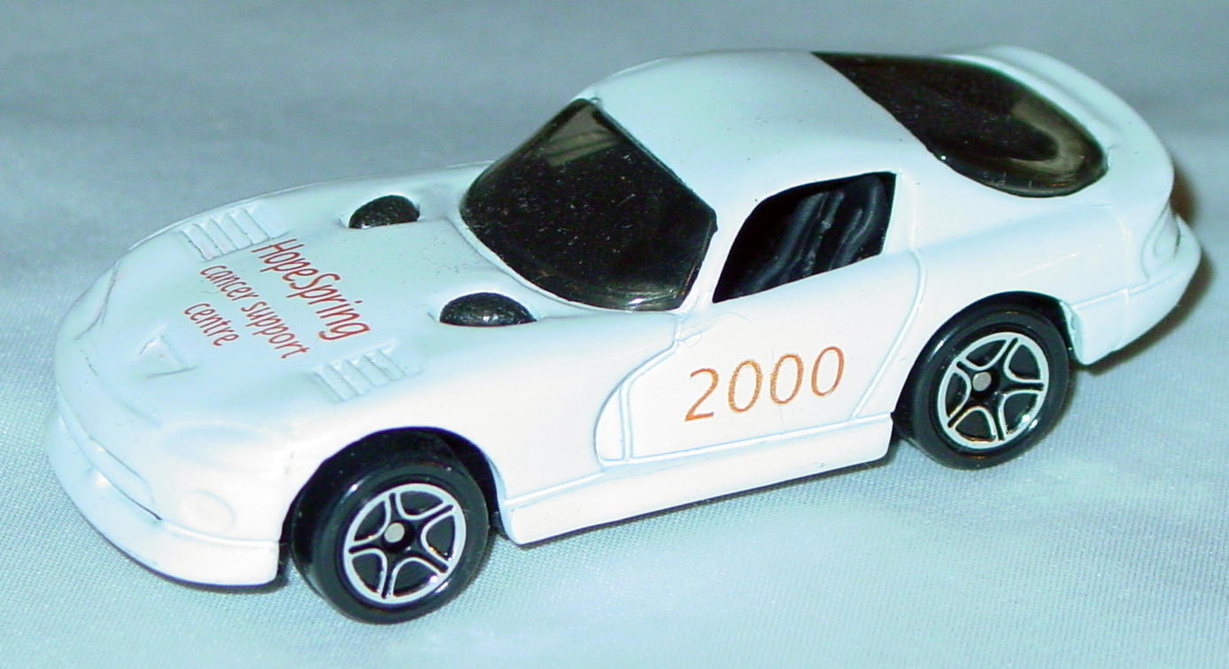 ASAP-CCI 01 G 44 - Dodge Viper GTS White Hope Spring 2000 made in China CCI