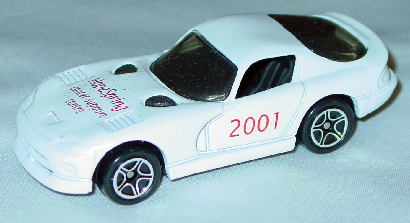 ASAP-CCI 01 G 45 - Dodge Viper GTS White Hope Spring 2001 made in China CCI