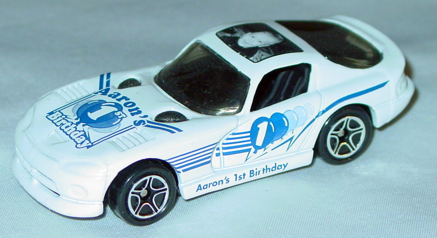 ASAP-CCI 01 G - Dodge Viper GTS White Aarons 1st Birthday