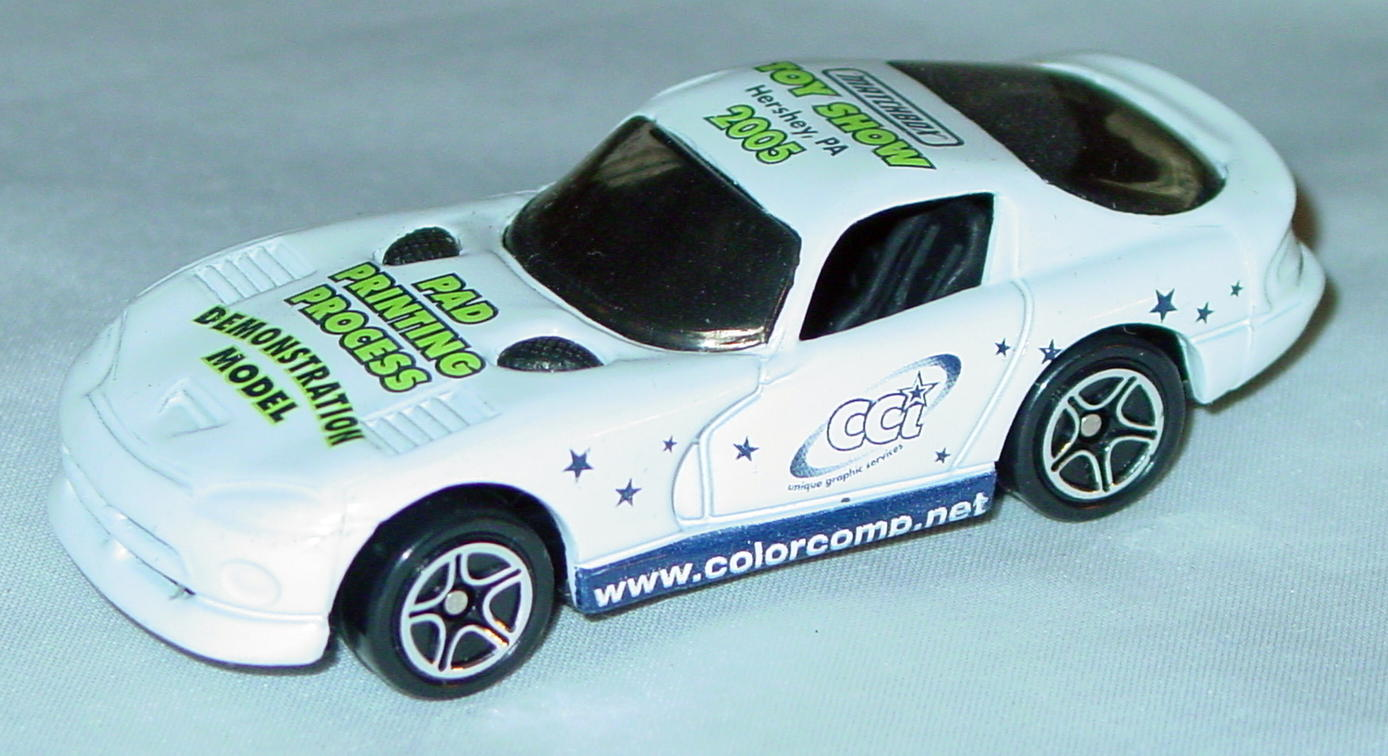 ASAP-CCI 01 G - Dodge Viper GTS White 2005 Hershey Demo green lets