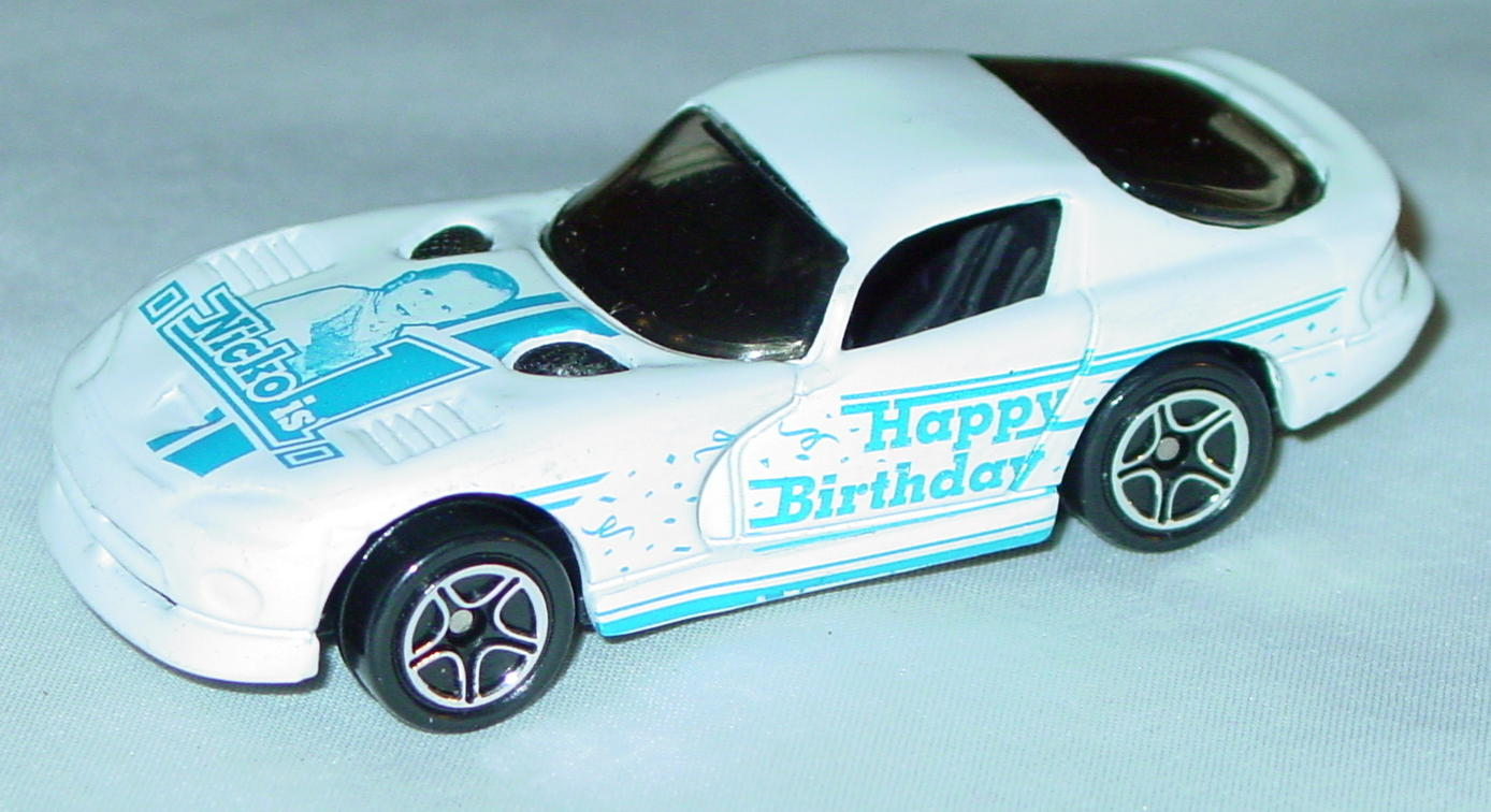 ASAP-CCI 01 G - Dodge Viper GTS White Birthday Nicko 1