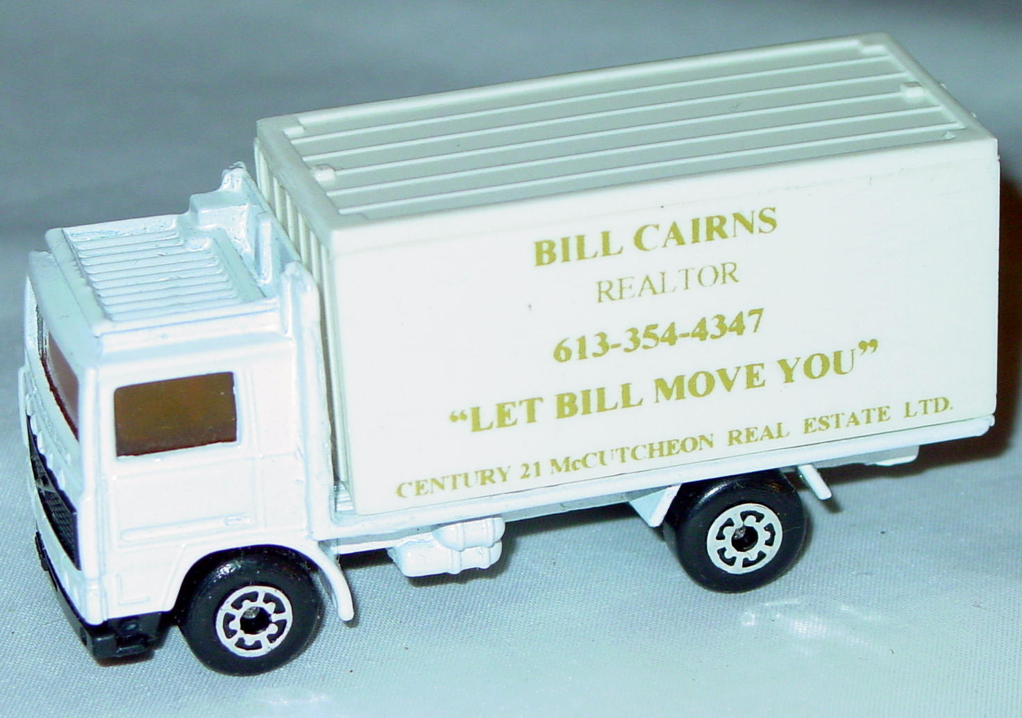 ASAP-CCI 20 D 52 - Volvo Cont Truck White and White Bill Cairns made in China ASAP