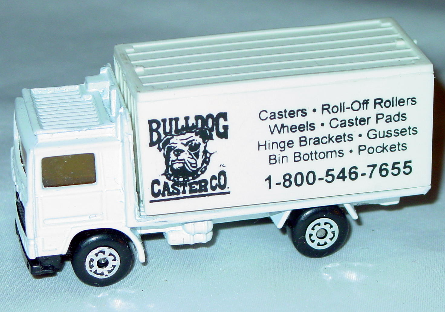 ASAP-CCI 20 D 60 - Volvo Cont Truck White and White Bulldog Caster made in China ASAP