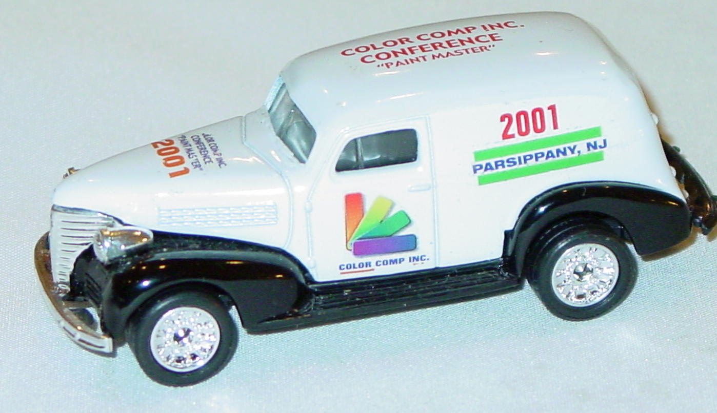 ASAP-CCI 215 A - Chevy Panel Van White Black Parsippany green tampo